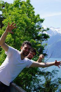 in Switzerland - southbound