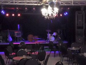 "stage is ready for ""Jazz ohne Stress"""